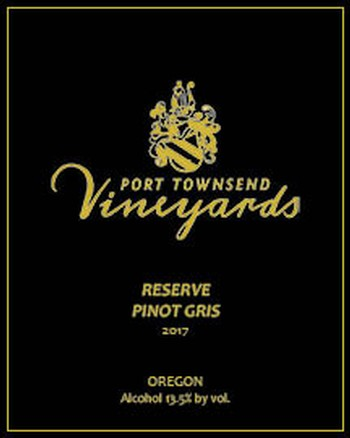 2017 Reserve Pinot Gris - 750ml bottle Image