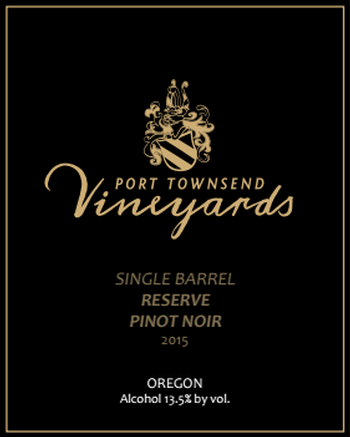 2015 Single Barrel Reserve Pinot Noir - 750ml bottle