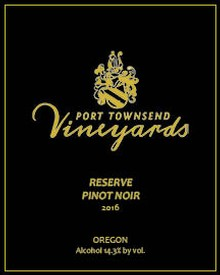 2016 Reserve Pinot Noir - 750ml bottle Image