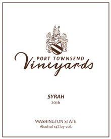 2016 Syrah - 750ml bottle Image