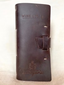 Leather Wine Log
